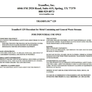 Tramfloc 129