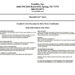 Tramfloc 161A